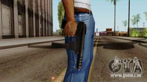 Original HD Tec9 pour GTA San Andreas troisième écran