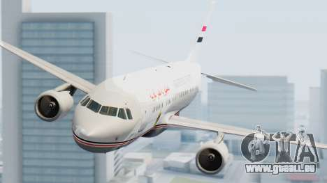 Airbus A320-200 Egyptian Air Force One pour GTA San Andreas vue de droite