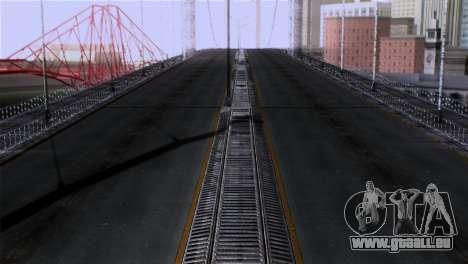 Roads Full Version LS-LV-SF pour GTA San Andreas troisième écran