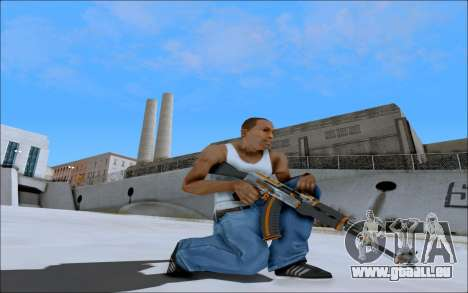 AK-47 Carbone Edition für GTA San Andreas dritten Screenshot