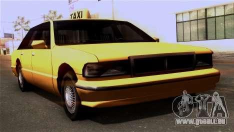 Taxi Kuruma 0.9 pour GTA San Andreas