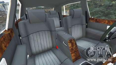 GTA 5 Rolls-Royce Phantom EWB v0.6 [Beta] avant droite vue de côté