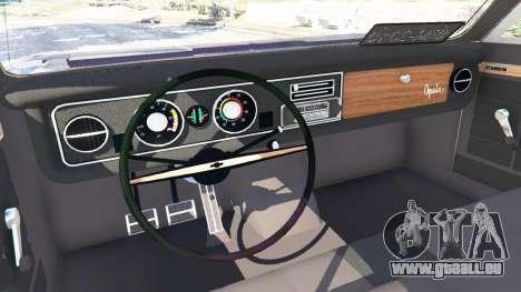 GTA 5 Chevrolet Opala Gran Luxo rechte Seitenansicht
