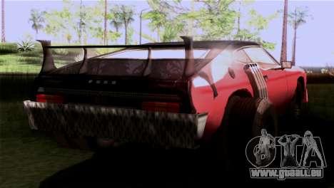 Ford Falcon XA Red Bat Mad Max 2 pour GTA San Andreas laissé vue