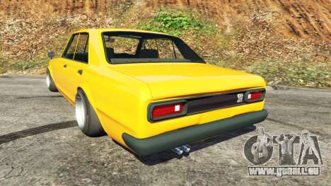 Nissan Skyline 2000 GT-R 1970 v0.3 [Beta] pour GTA 5