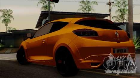 Renault Megane Sport HKNgarage pour GTA San Andreas laissé vue