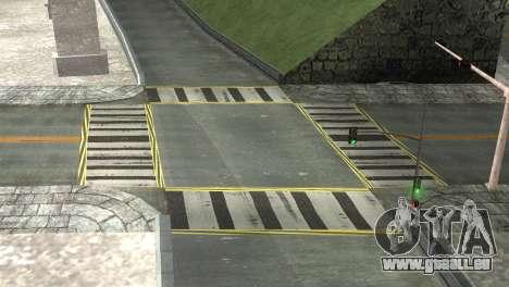 Roads Full Version LS-LV-SF pour GTA San Andreas cinquième écran