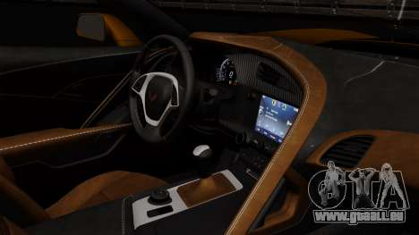 Chevrolet Corvette Z06 1.0.1 für GTA San Andreas Rückansicht