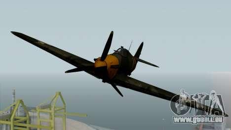 Hawker Hurricane Mk1 - Romania Nr. 1 für GTA San Andreas rechten Ansicht
