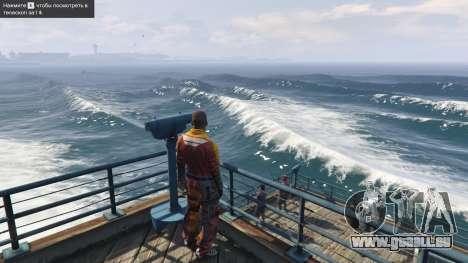 GTA 5 De grosses vagues v1.1 troisième capture d'écran