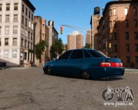 VAZ 2110 für GTA 4 hinten links Ansicht