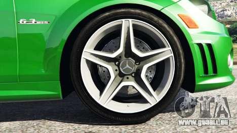 GTA 5 Mercedes-Benz C63 (W204) AMG hinten rechts