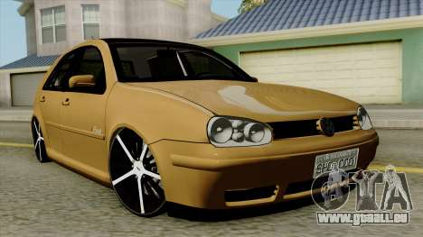 Volkswagen Golf 2004 Edit für GTA San Andreas