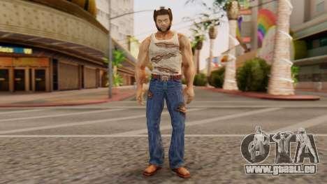 Wolverine v1 für GTA San Andreas zweiten Screenshot
