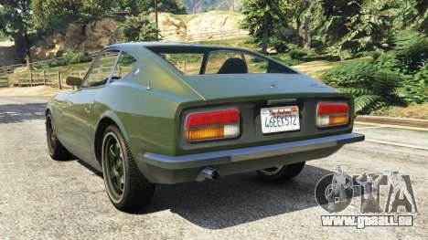 GTA 5 Datsun 240Z hinten links Seitenansicht
