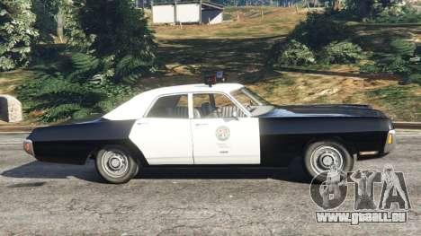 Dodge Polara 1971 Police pour GTA 5