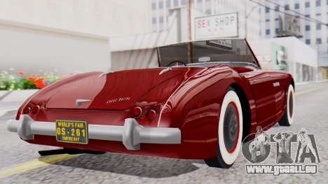 Ascot Bailey S200 from Mafia 2 für GTA San Andreas linke Ansicht