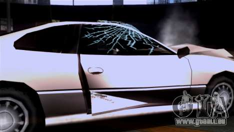 La dégradation des textures pour GTA San Andreas deuxième écran