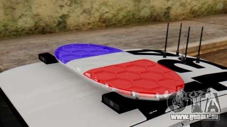 Police SF 2013 pour GTA San Andreas vue arrière
