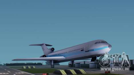 DMA Airtrain from GTA 3 v1.0 für GTA San Andreas zurück linke Ansicht