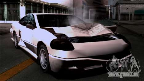 La dégradation des textures pour GTA San Andreas