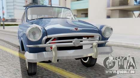 GAZ 21 Volga v1 pour GTA San Andreas vue arrière
