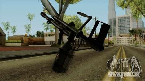 Original HD Flame Thrower pour GTA San Andreas deuxième écran