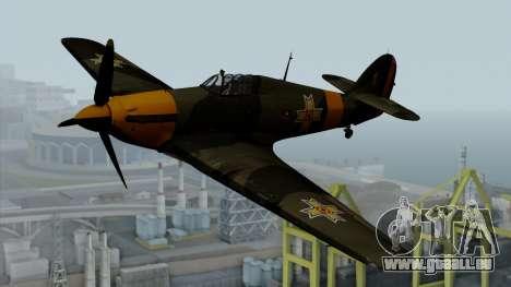 Hawker Hurricane Mk1 - Romania Nr. 1 für GTA San Andreas