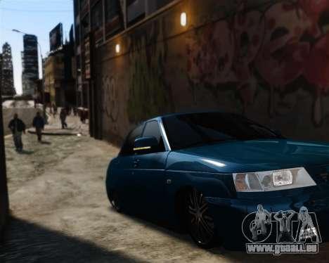 VAZ 2110 für GTA 4 Innenansicht