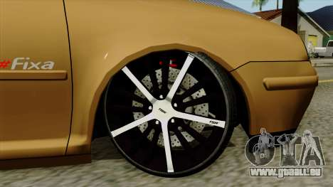 Volkswagen Golf 2004 Edit für GTA San Andreas zurück linke Ansicht