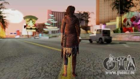 Born Child Girl pour GTA San Andreas troisième écran