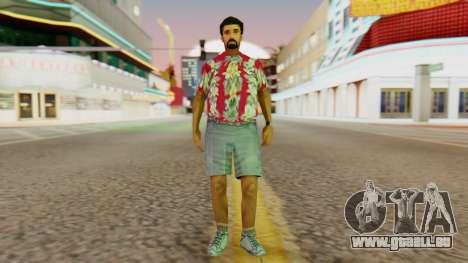Tourist für GTA San Andreas zweiten Screenshot