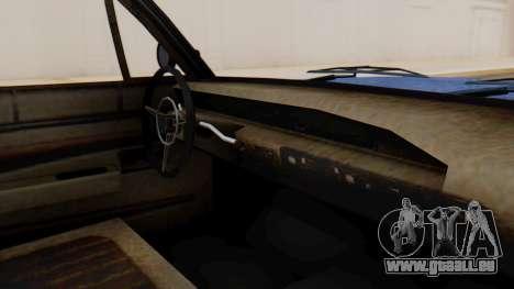 GTA 5 Declasse Voodoo Worn IVF pour GTA San Andreas vue de droite