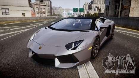 Lamborghini Aventador Roadster pour GTA 4