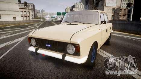 Moskwitsch-412 für GTA 4