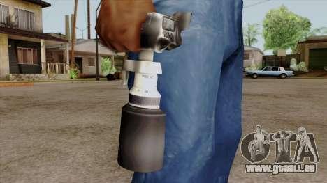 Original HD Camera pour GTA San Andreas troisième écran