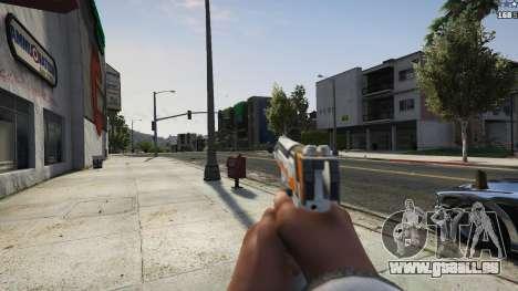 GTA 5 Asiimov Pistol.50 cinquième capture d'écran