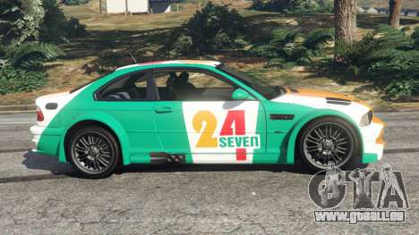 GTA 5 BMW M3 GTR E46 PJ3 linke Seitenansicht
