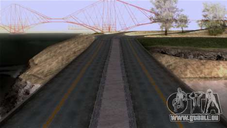 Roads Full Version LS-LV-SF für GTA San Andreas