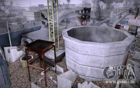 Bâtiment sur Grove Street v0.1 Beta pour GTA San Andreas quatrième écran