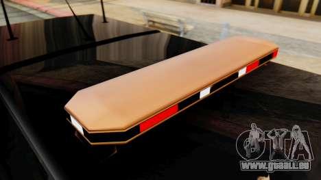 FBI Rancher with Lightbars pour GTA San Andreas vue de droite