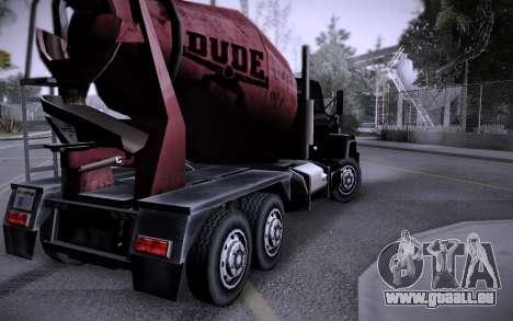 Bâtiment sur Grove Street v0.1 Beta pour GTA San Andreas dixième écran