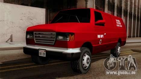 SAFD In Service Training Van für GTA San Andreas