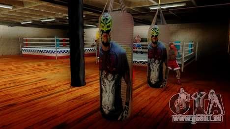La poire avec Rey Mysterio pour GTA San Andreas troisième écran