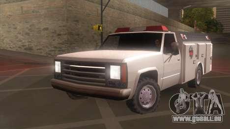 FDSA Fire Van pour GTA San Andreas