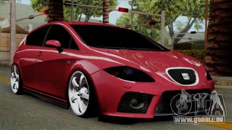 Seat Leon Cupra Static für GTA San Andreas