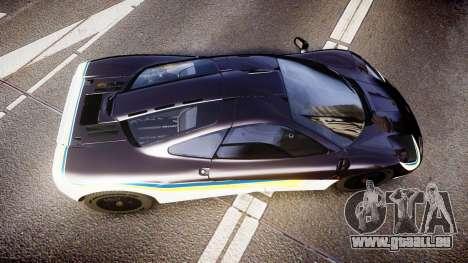 McLaren F1 1993 [EPM] Black F1 LM für GTA 4 rechte Ansicht