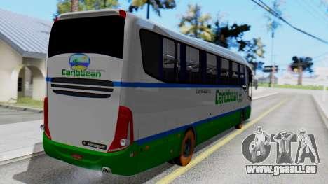 Marcopolo Bus Caribbean Travel pour GTA San Andreas laissé vue