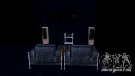 Reprojeter l'intérieur du manoir de MADD Dogg pour GTA San Andreas sixième écran