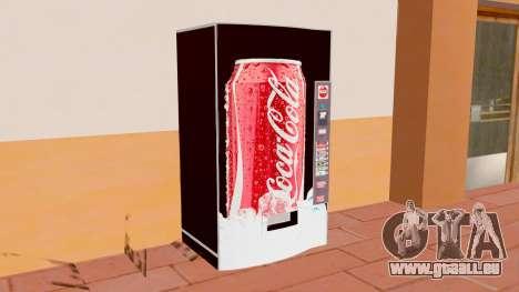 Le Coca-Cola Machine pour GTA San Andreas deuxième écran